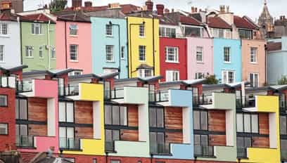 Property types in Bristol