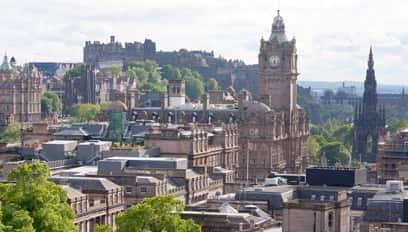 Property types in Edinburgh