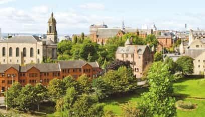 Property types in Glasgow