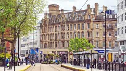 Property types in Sheffield