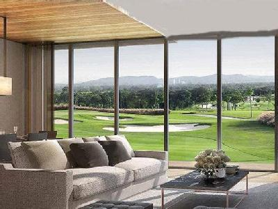 Part of 100 Acre Golf Township, Sky Lounge at 21st Floor, State-of-the-art Sports Arena.