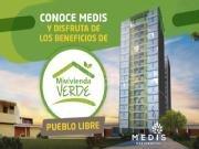 Proyecto Residencial MIDIS en Pueblo Libre. Ubicado cerca a centros comerciales y colegios.